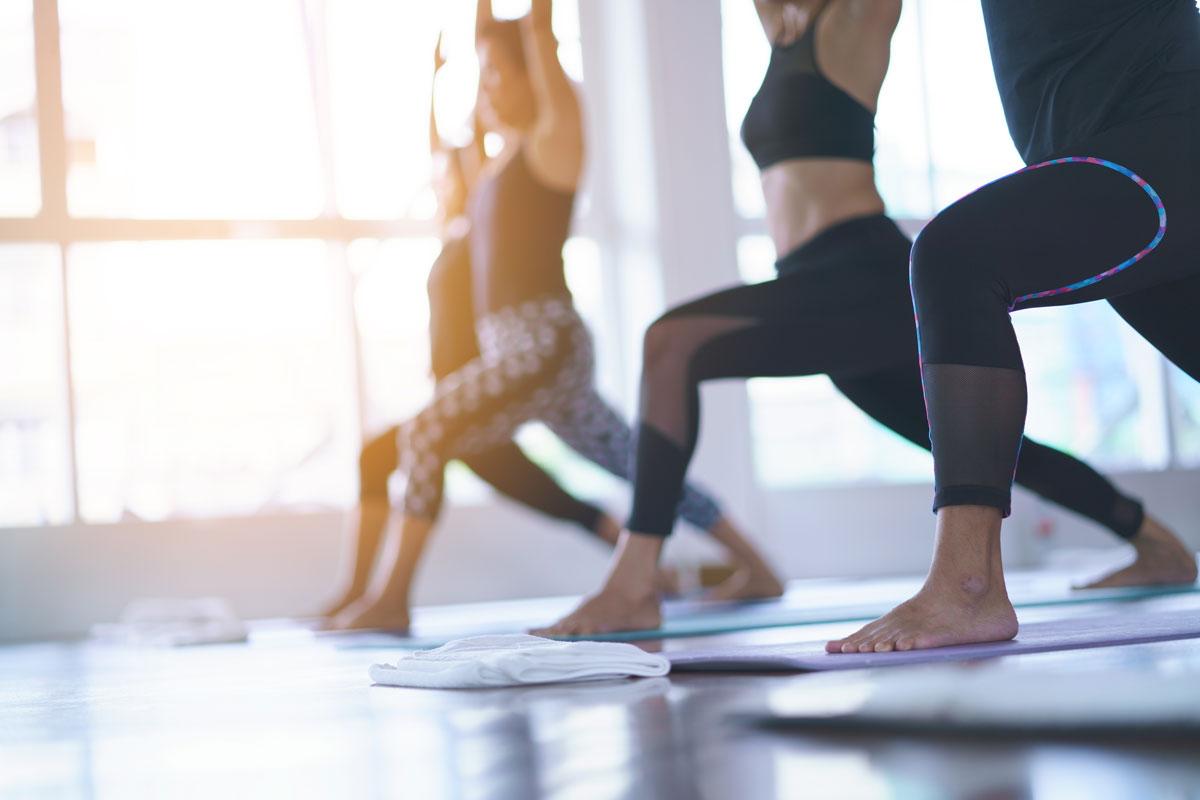 Cours de yoga le lundi & vendredi